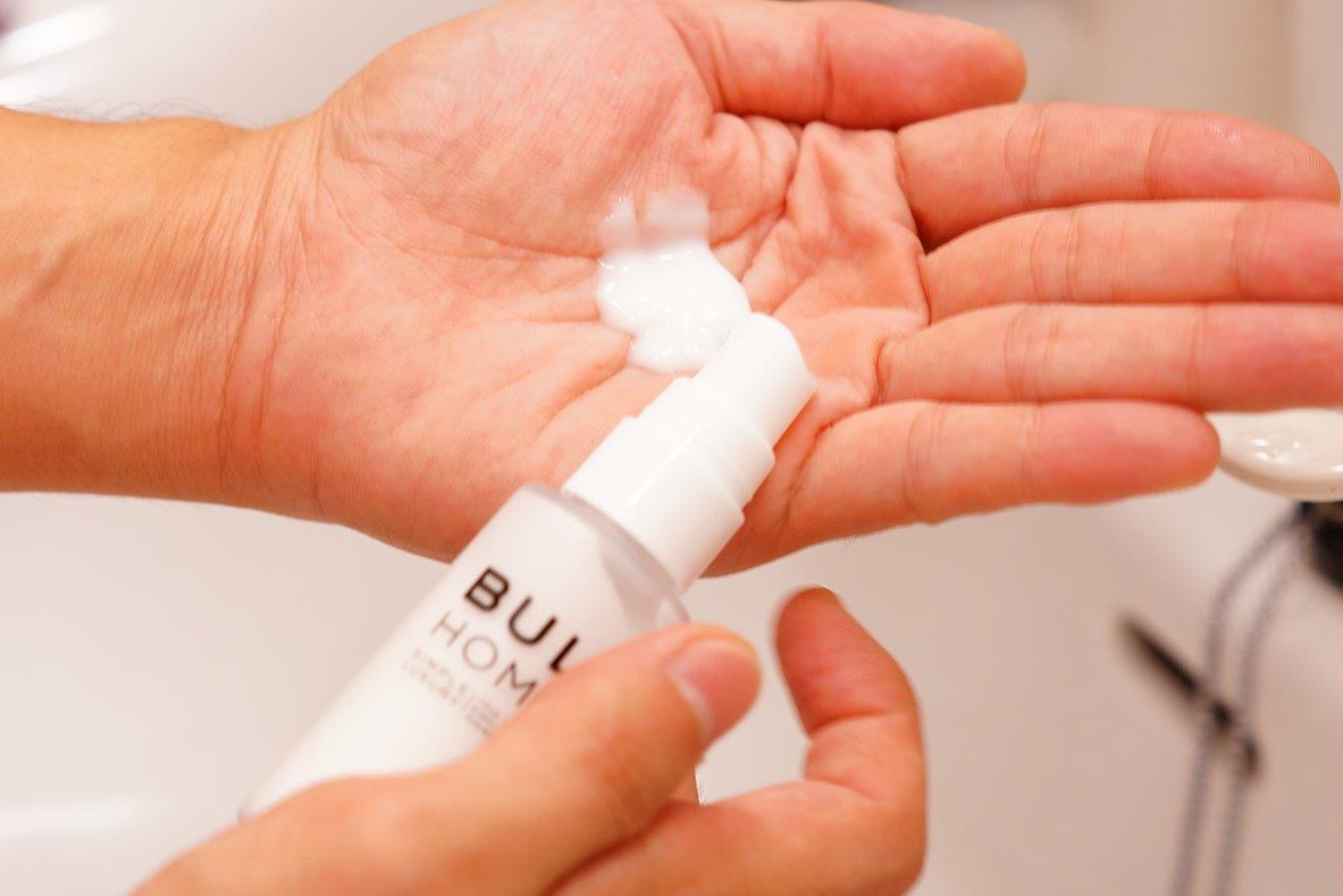BULK HOMME乳液の目安