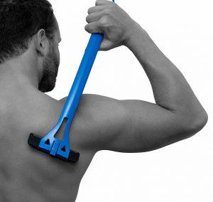 背中の毛を処理する方法