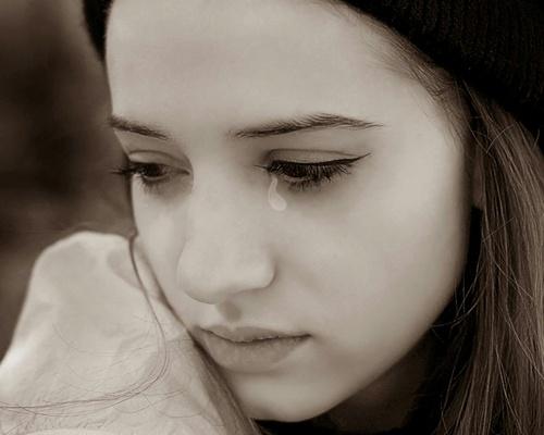 泣くことはストレス発散に!