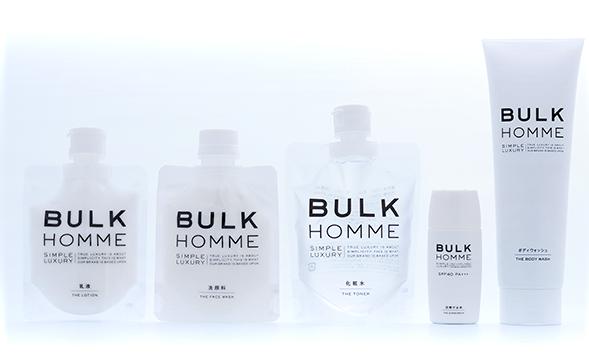 BULK HOMMEスキンケアコース500円