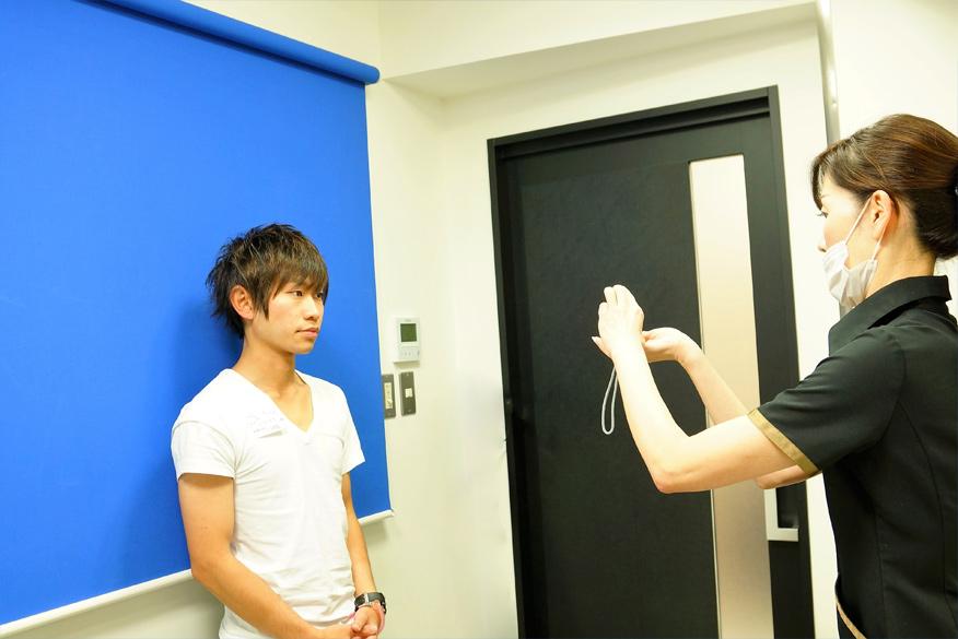 ゴリラクリニック新宿本院施術前写真撮影