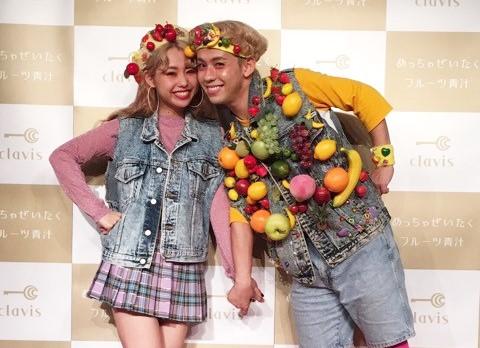 """りゅうちぇるの彼女ペコが今話題の""""めっちゃぜいたくフルーツ青汁""""で10キロ減量に成功!!"""