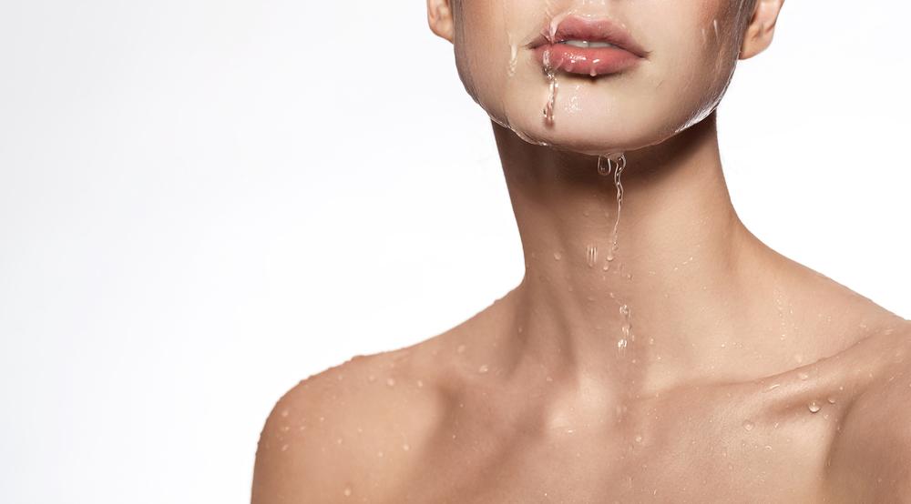乳液をつけなければ水分を逃している
