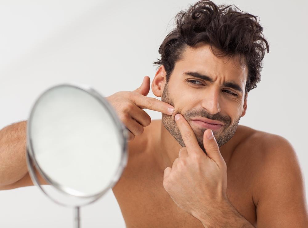 乾燥は大人ニキビの原因-美容男子
