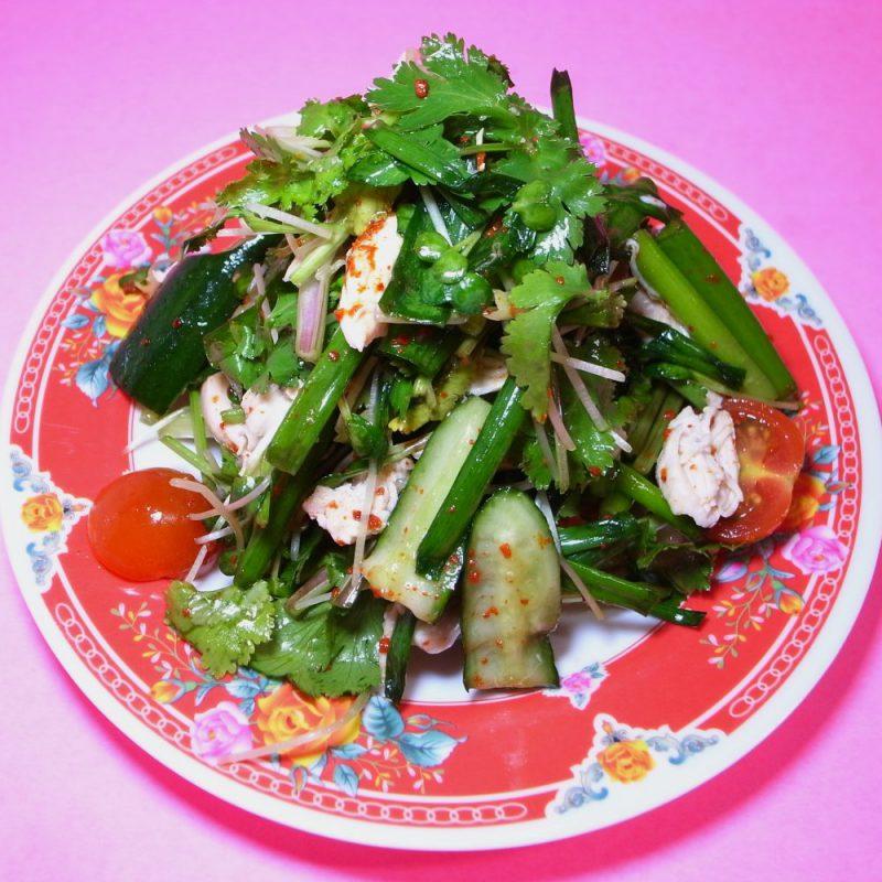 タイ風なサラダ