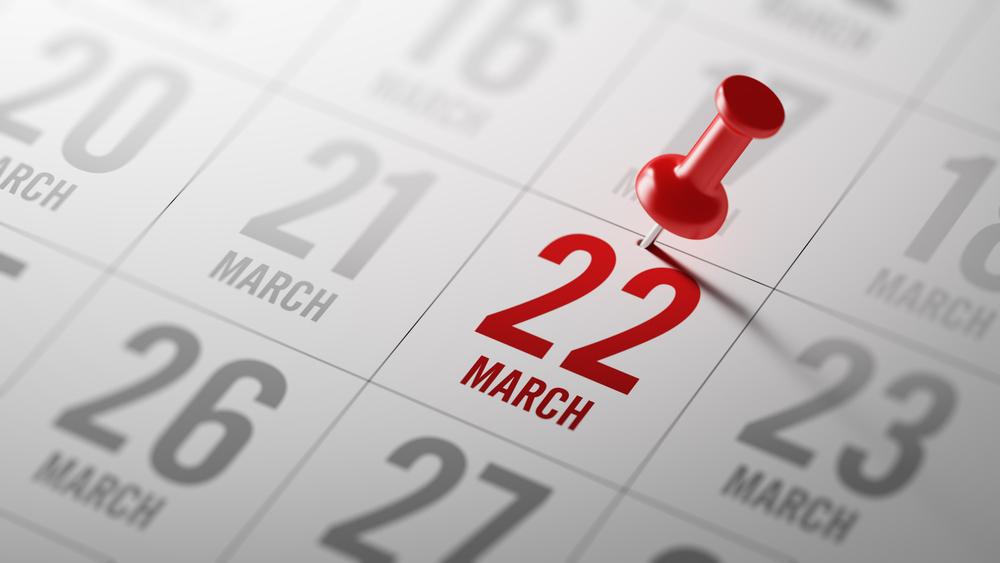 3月22日、今日は何の日?