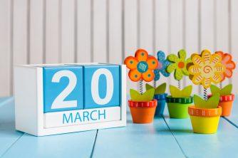 3月20日、今日は何の日?