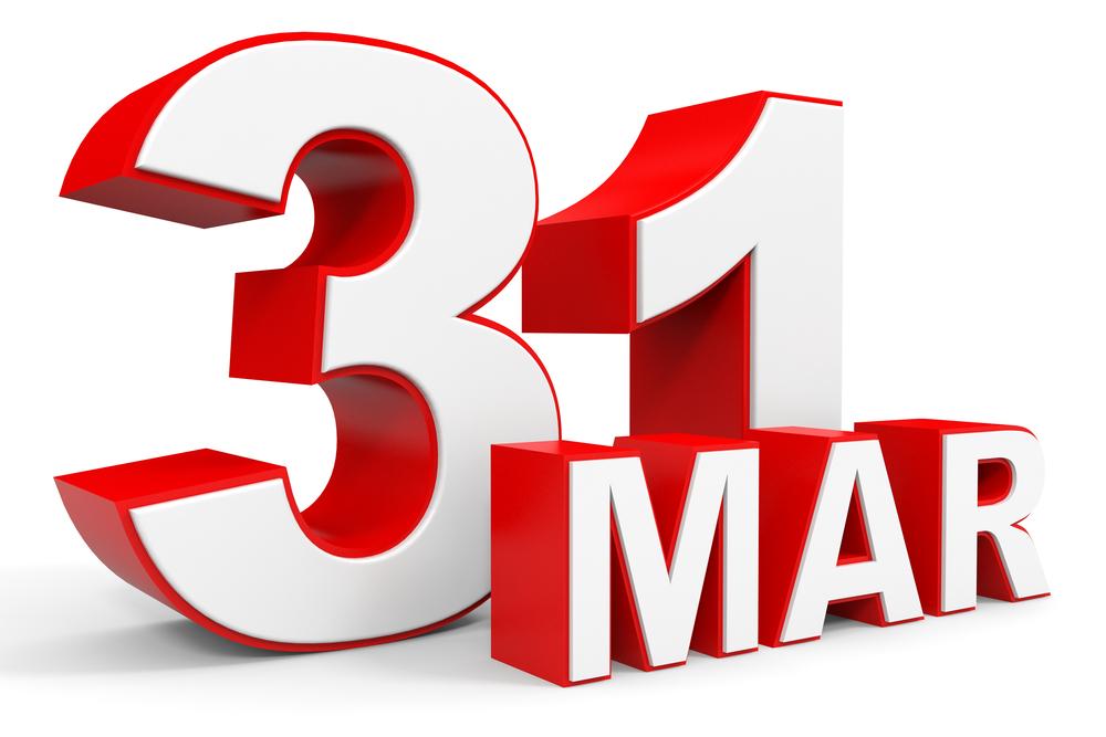 3月31日、今日は何の日?