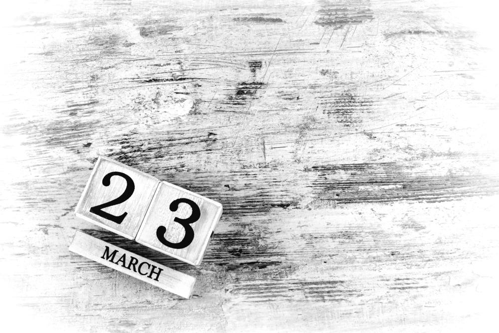 3月23日、今日は何の日?