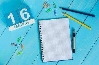3月16日、今日は何の日?