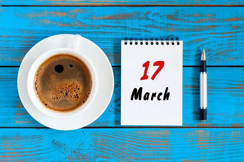 3月17日、今日は何の日?