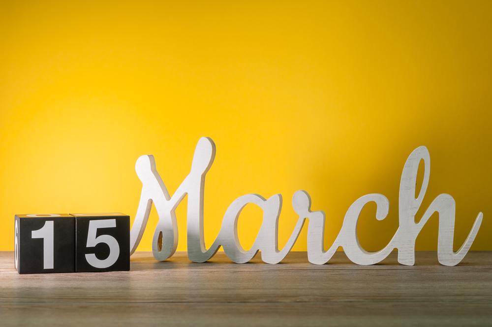 3月15日、今日は何の日?