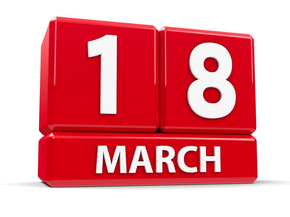 3月18日、今日は何の日?