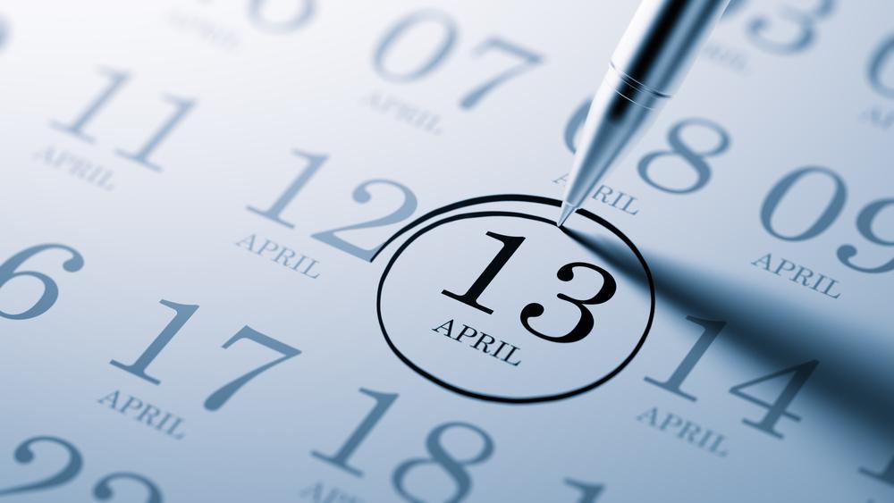 4月13日、今日は何の日??
