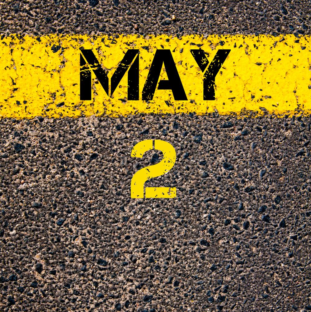5月2日、今日は何の日??