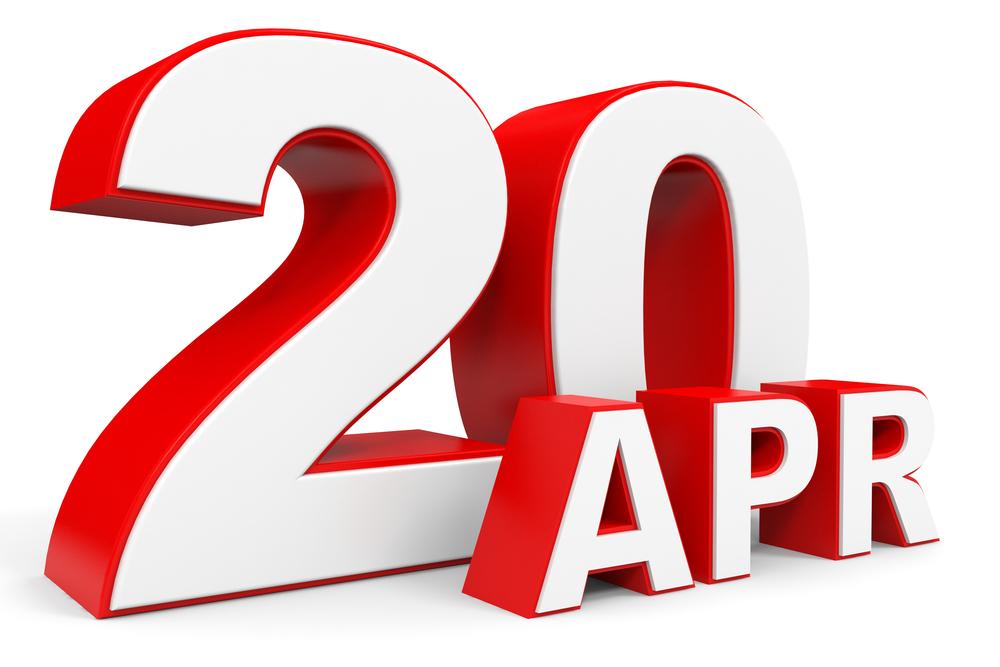 4月20日、今日は何の日??