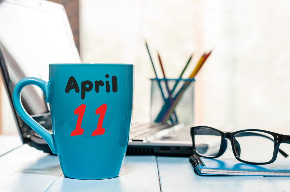 4月11日、今日は何の日??