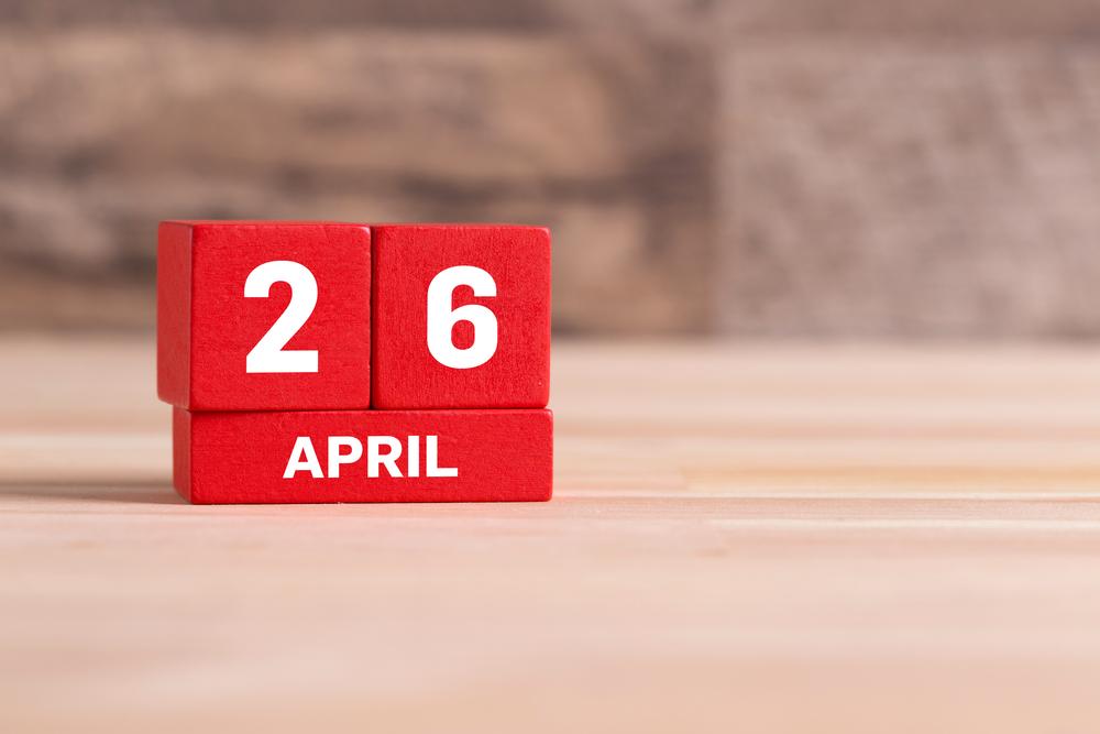 4月26日、今日は何の日??