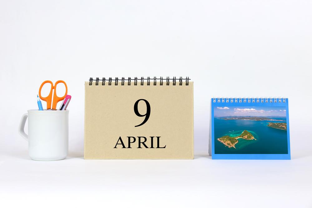 4月9日、今日は何の日??