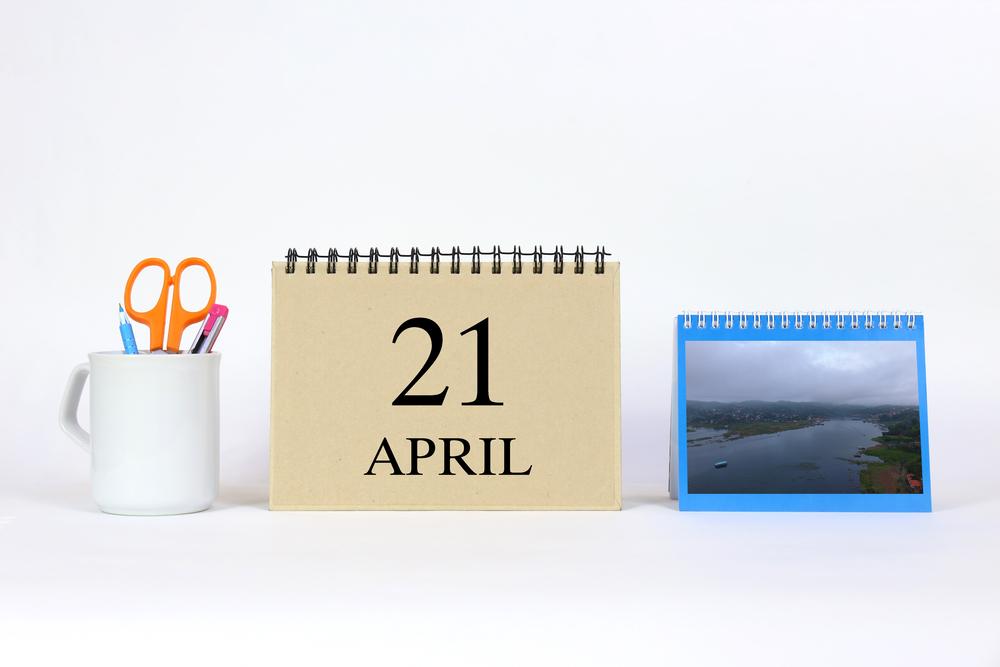 4月21日、今日は何の日??