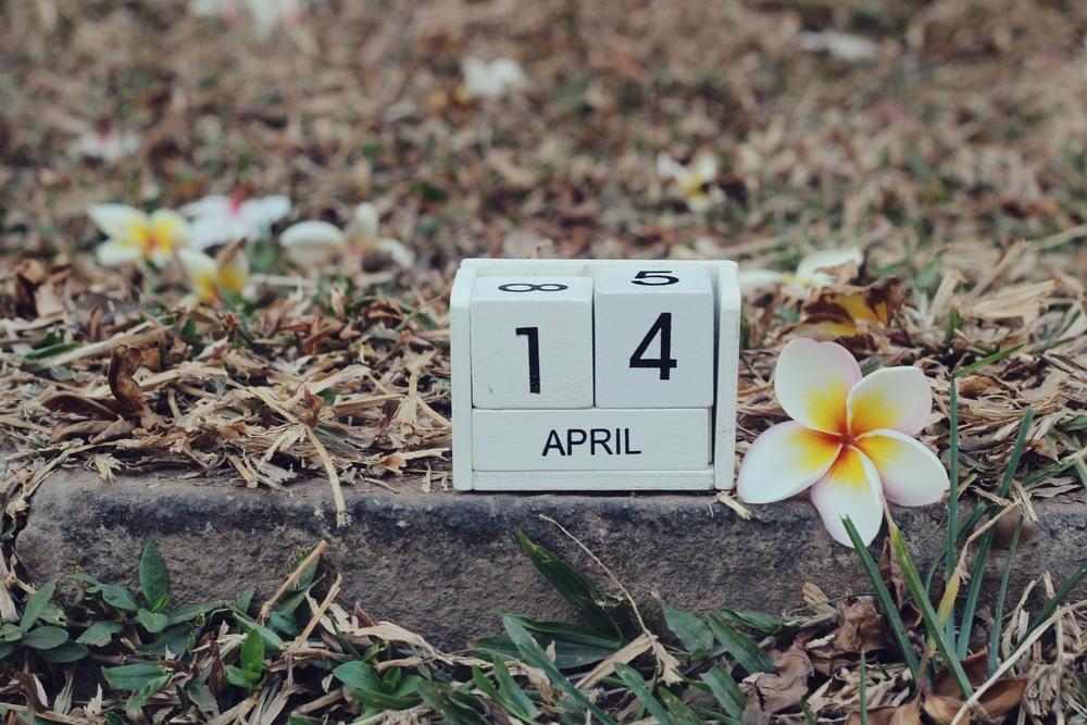 4月14日、今日は何の日??