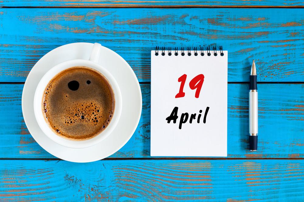 4月19日、今日は何の日??