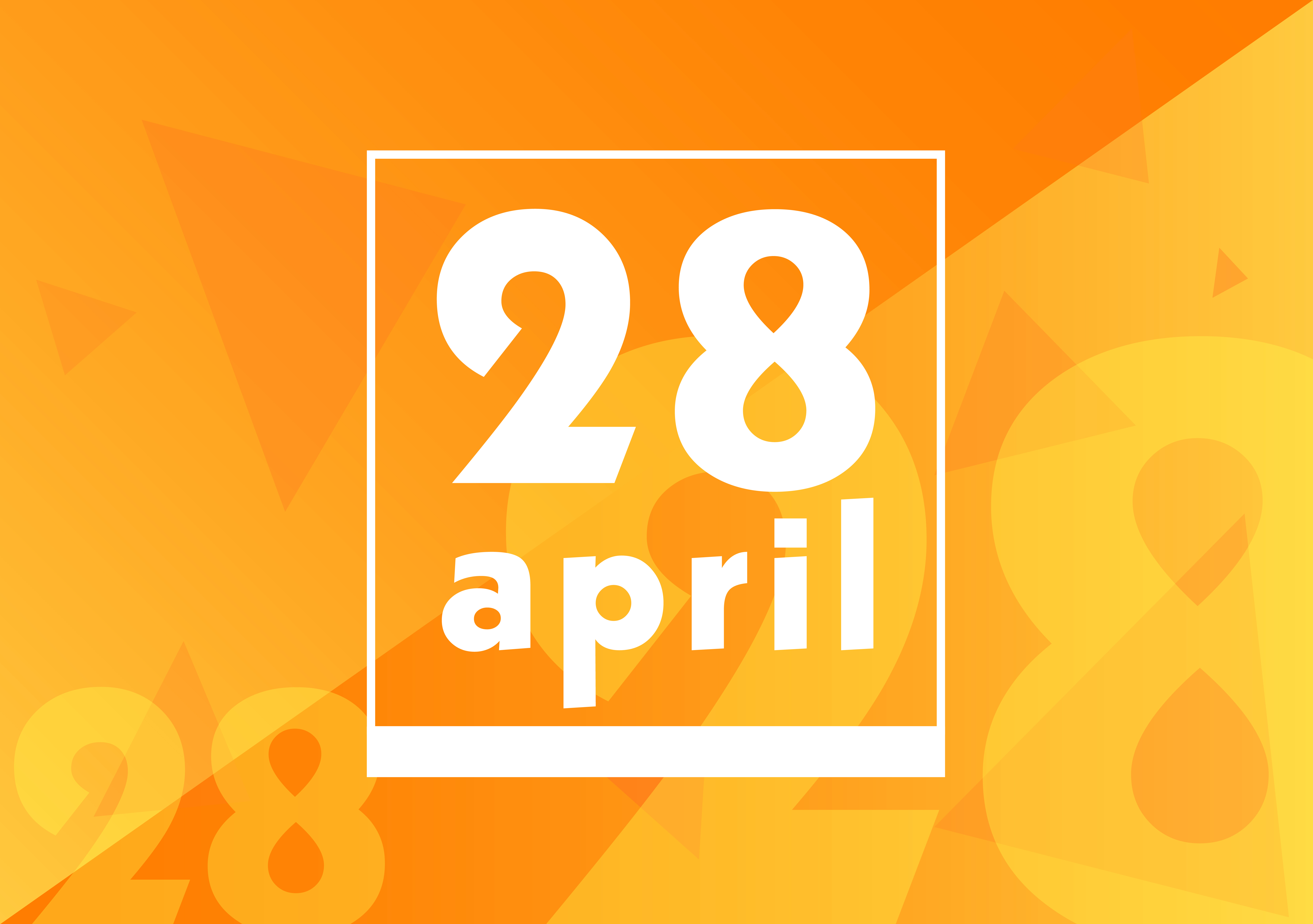 4月28日、今日は何の日??