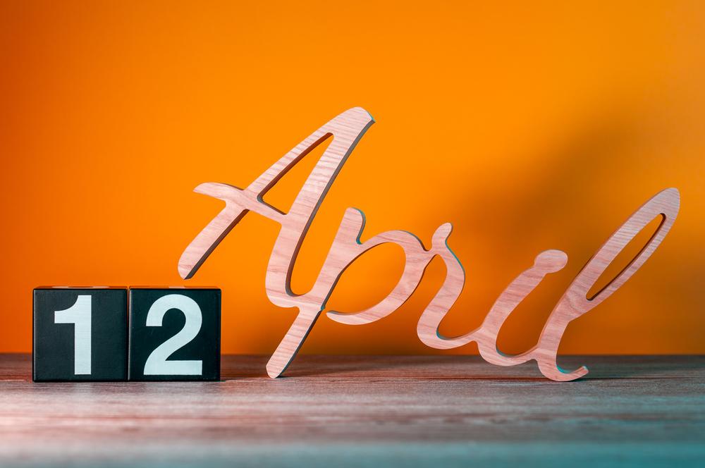 4月12日、今日は何の日??