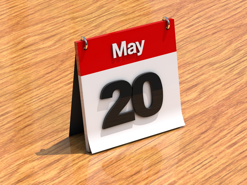 5月20日、今日は何の日??