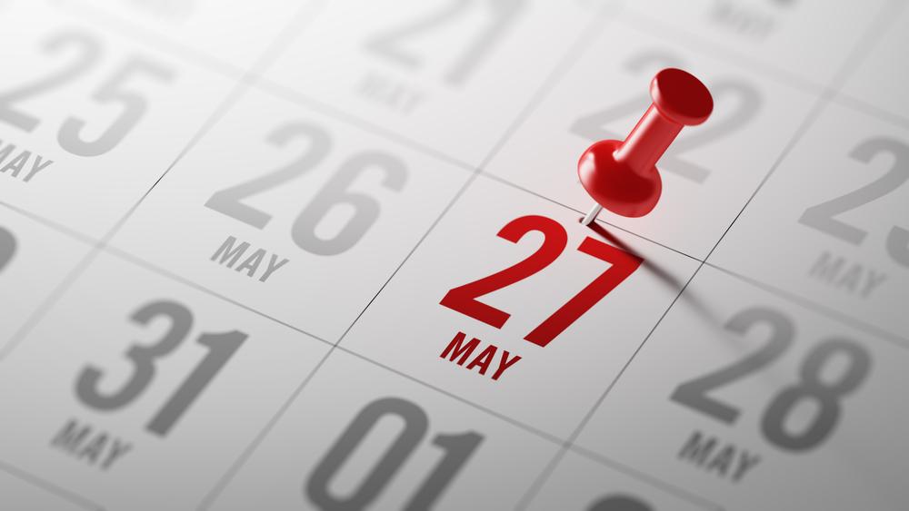 5月27日、今日は何の日??