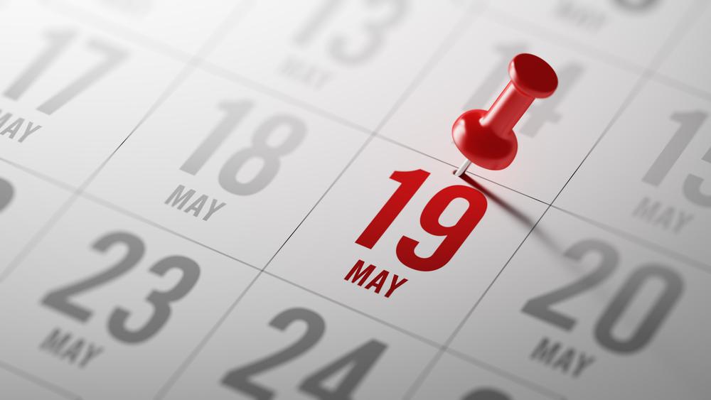 5月19日、今日は何の日??