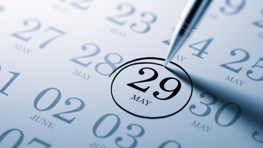 5月29日、今日は何の日??