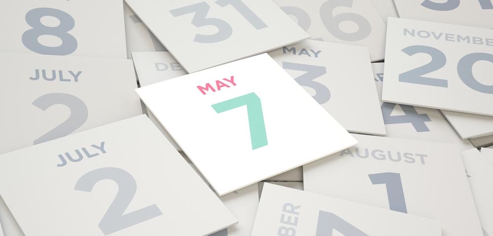 5月7日、今日は何の日??