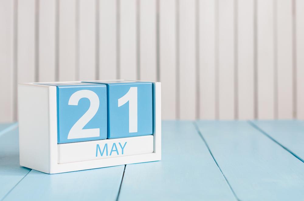 5月21日、今日は何の日??