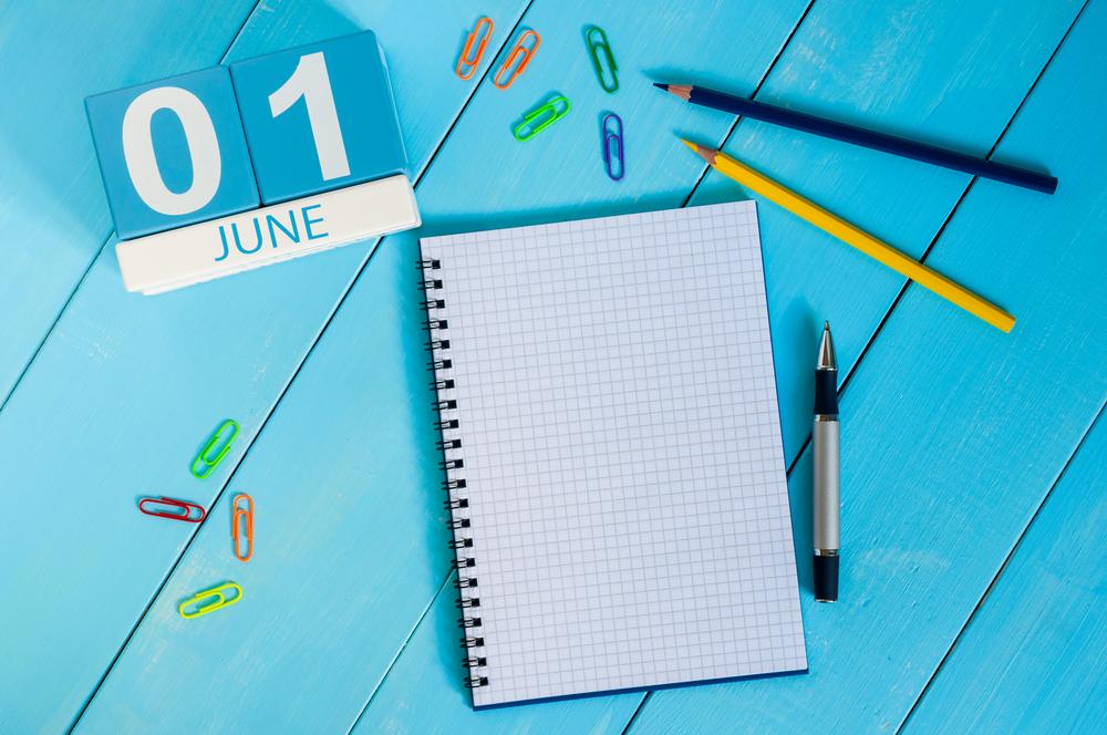 6月1日、今日は何の日??