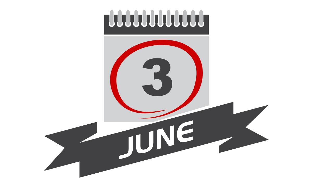 6月3日、今日は何の日??