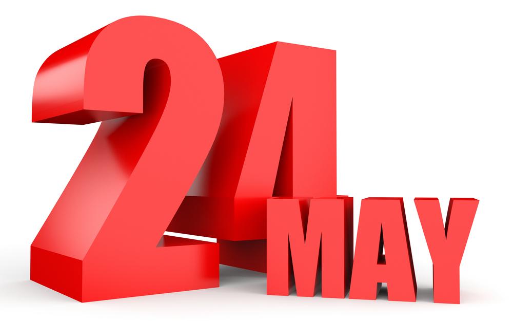 5月24日、今日は何の日??