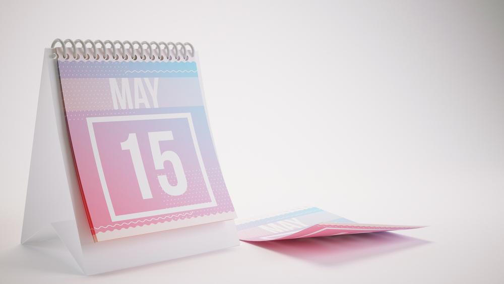 5月15日、今日は何の日??