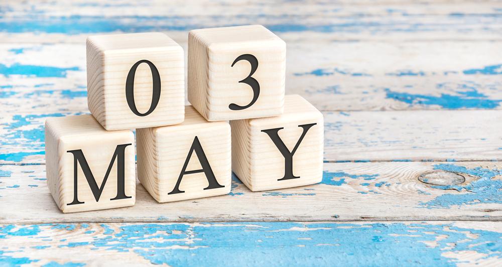 5月3日、今日は何の日??