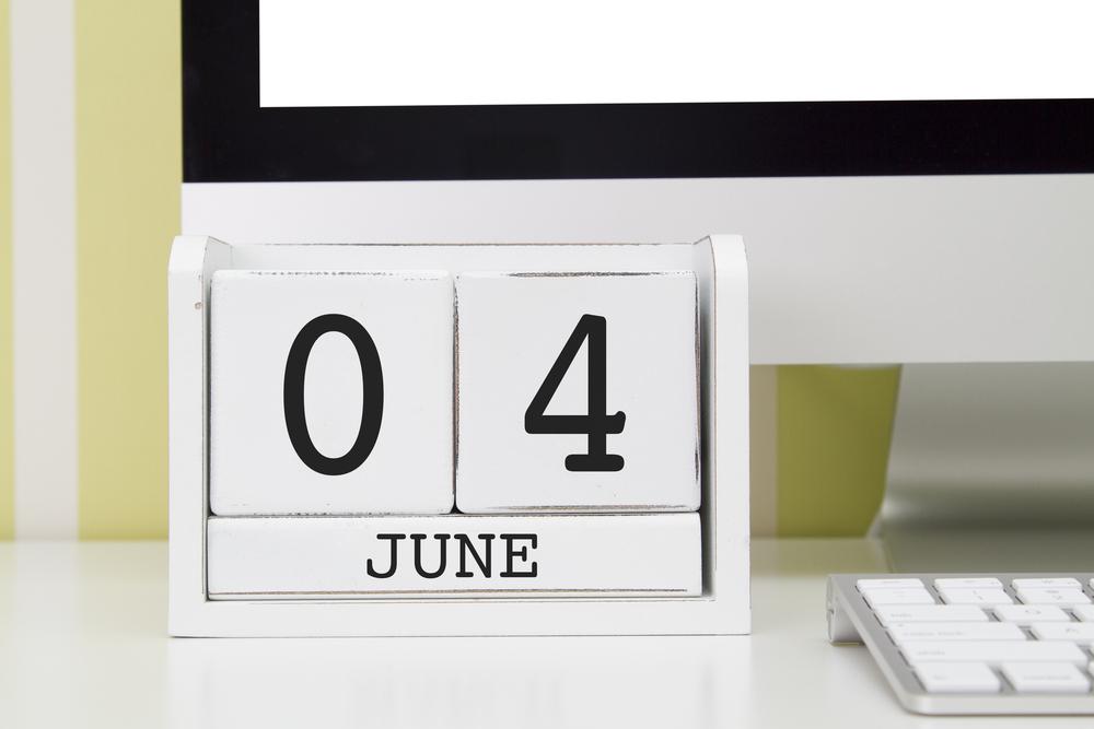 6月4日、今日は何の日??