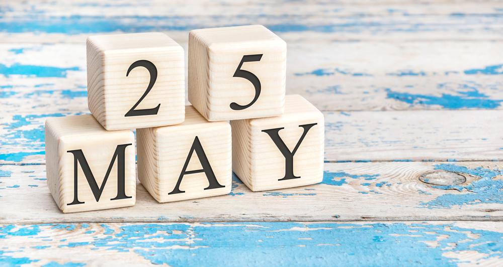 5月25日、今日は何の日??