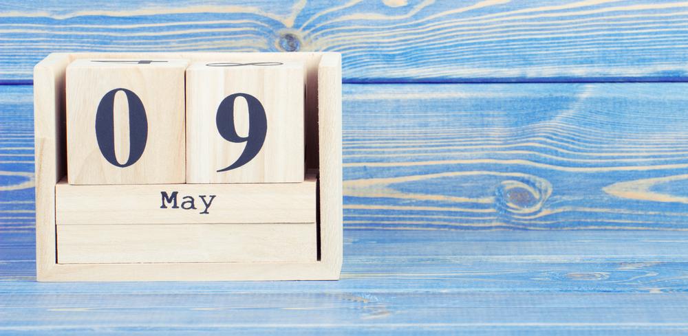 5月9日、今日は何の日??