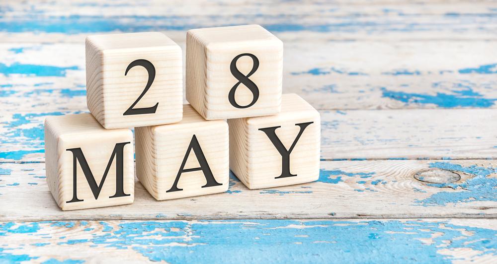 5月28日、今日は何の日??