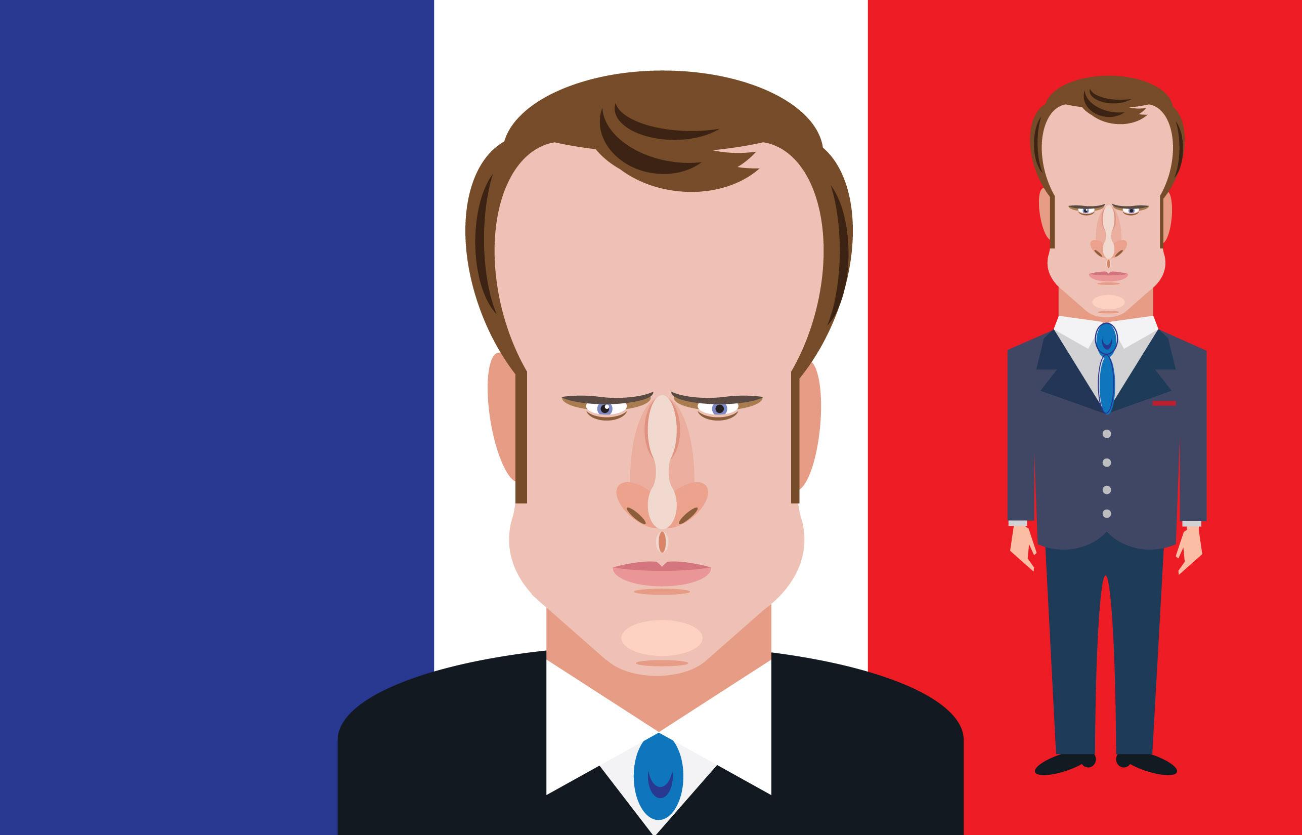 仏大統領選マクロン最年少大統領誕生!ハゲそうな頭髪にも注目が!