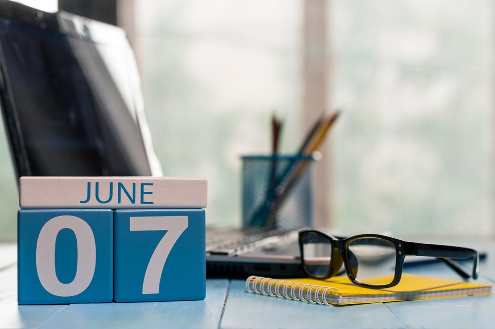 6月7日、今日は何の日??