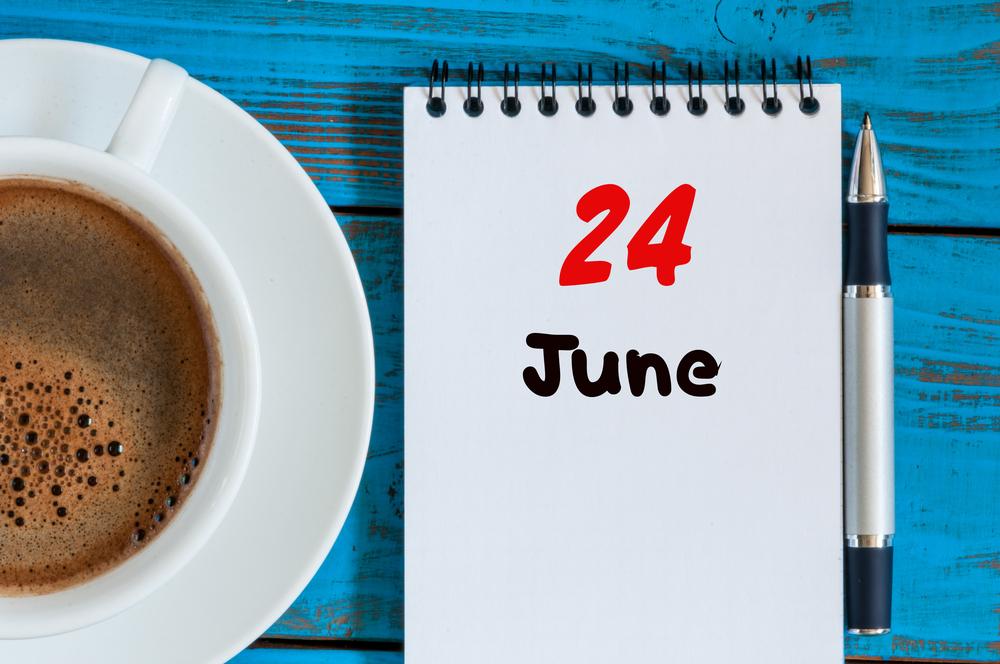6月24日、今日は何の日??