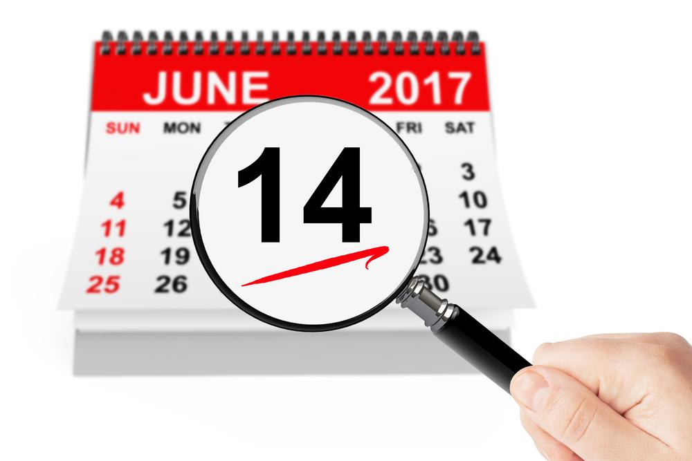 6月14日、今日は何の日??