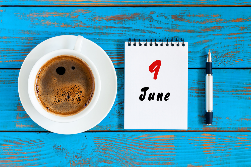 6月9日、今日は何の日??