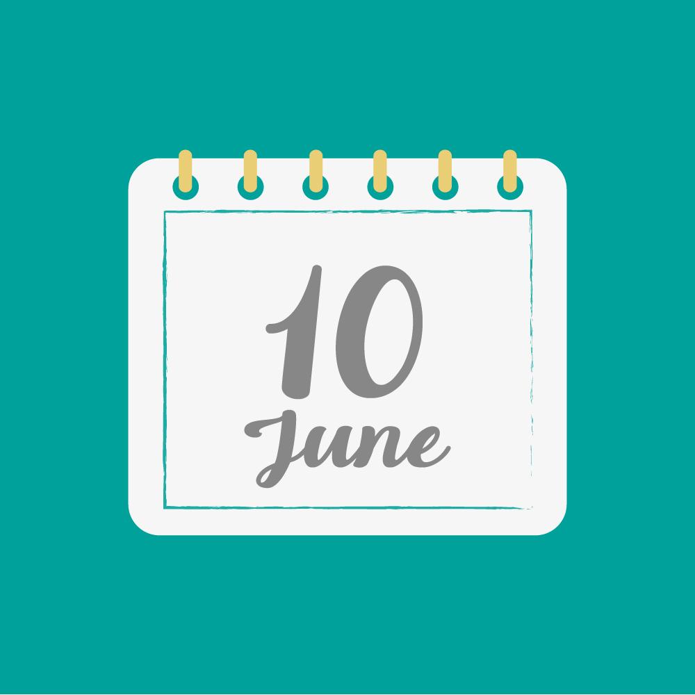6月10日、今日は何の日??