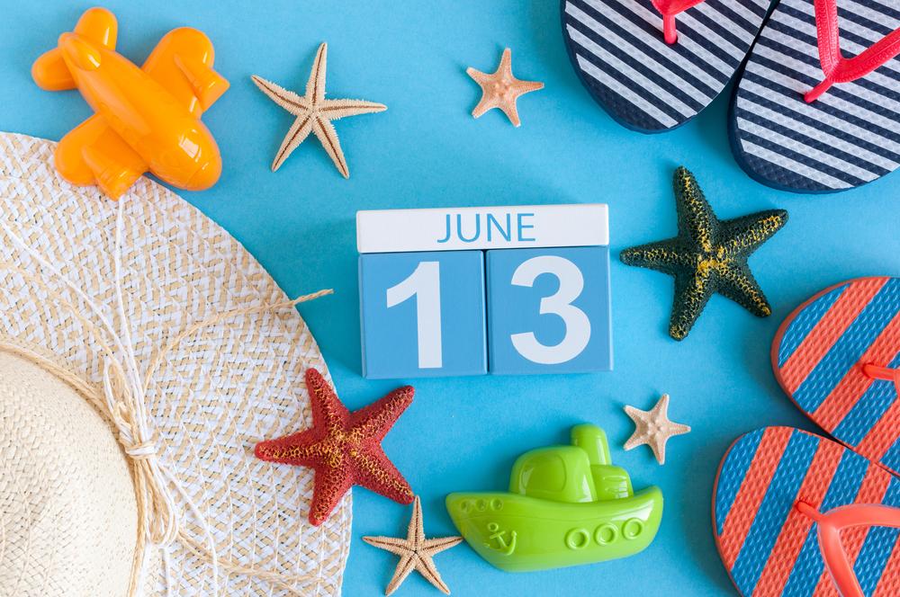 6月13日、今日は何の日??